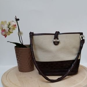 Brighton Collection Bag Quality Leather Size M
